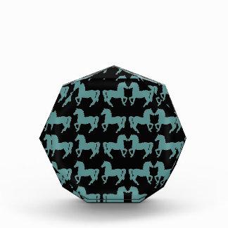 Horses Acrylic Octagon Award