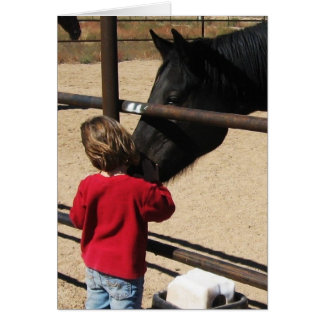 Horses Against Bullying - Cowboy Parenting Card