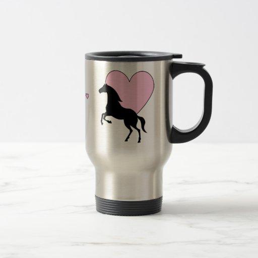 Horses and Love Coffee Mug