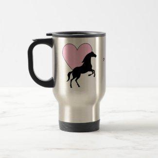 Horses and Love mug