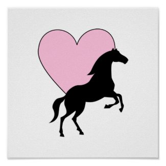 Horses and Love Poster