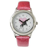 Horses and Love Wrist Watch