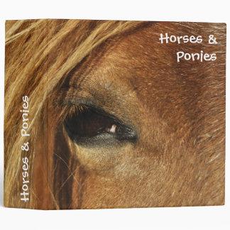 Horses and ponies binder