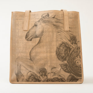 Horses And Roses Tote