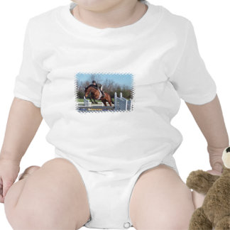 Horses and Show Jumping Baby T-Shirt