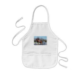 Horses and Show Jumping Children's Apron