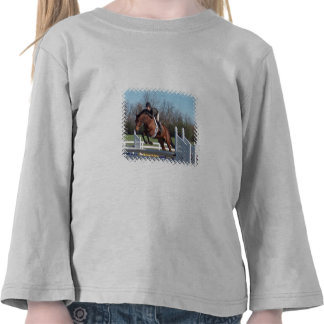Horses and Show Jumping Toddler T-Shirt