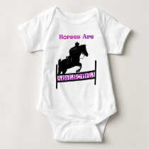 Horses Are Awesome Baby Bodysuit