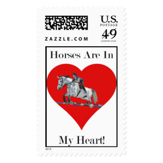 Horses Are In My Heart Postage Stamps