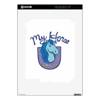 Horses Are My Life iPad 2 Decals