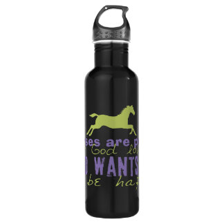 Horses Are Proof 24oz Water Bottle