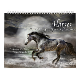 Horses Art Calendar