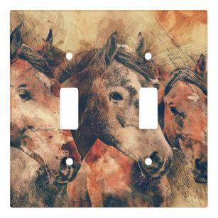 Animal Portrait Art Wall Plates Light Switch Covers Zazzle