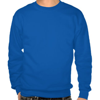 Horses, at leisure, mucking a stall pull over sweatshirt