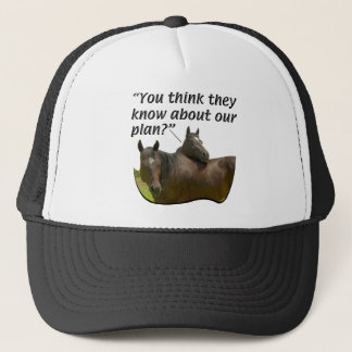 Horses - At Leisure - The Planners Trucker Hat
