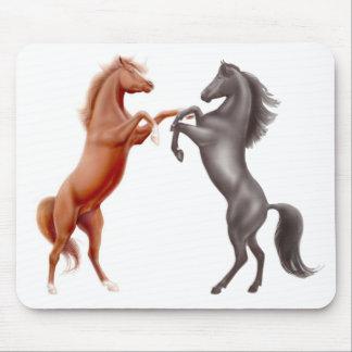 Horses at Play Mousepad