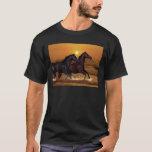 Horses at sunset T-Shirt