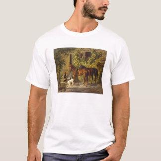 Horses at the Porch T-Shirt