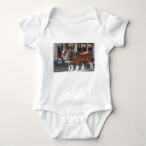 Horses Baby Bodysuit