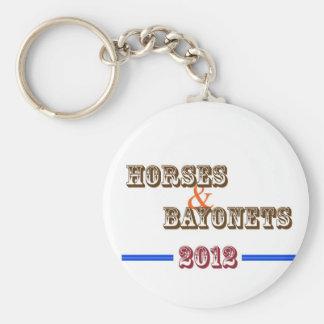 Horses & Bayonets - keychain