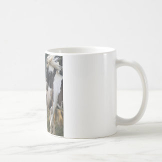 HORSES BLACK AND WHITE 1.PNG COFFEE MUG