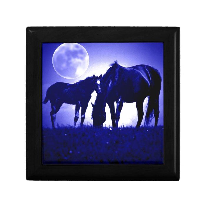 Horses & Blue Night Gift Box