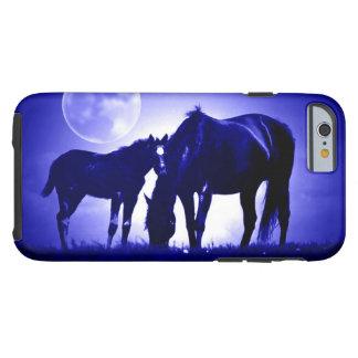 Horses & Blue Night Tough iPhone 6 Case