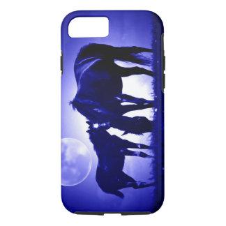 Horses & Blue Night Tough iPhone 7 Case