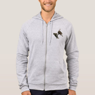 Horses, Bovine, Cutting Horse - Hoodies