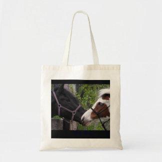 Horses Budget Tote Bag