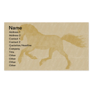 Horses Business Card Template