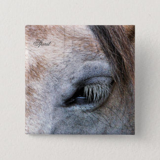HORSES BUTTON