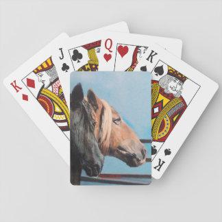 Horses/Cabalos/Horses Playing Cards