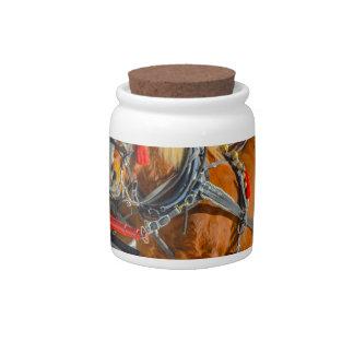 Horses Candy Jars