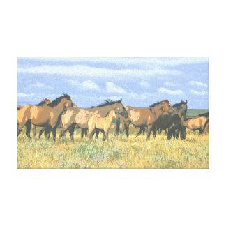 Horses Gallery Wrap Canvas