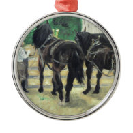Horses Christmas Ornaments