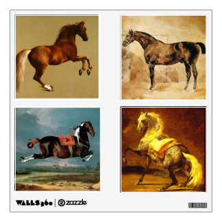 HORSES COLLECTION WALL STICKER