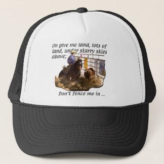 Horses - Cow Horses Trucker Hat