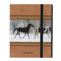 Horses Custom iPad Case
