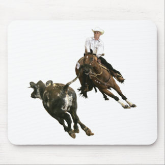 Horses - Cutting Horse Mouse Pad