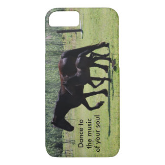 Horses dance to the music iPhone 7 case