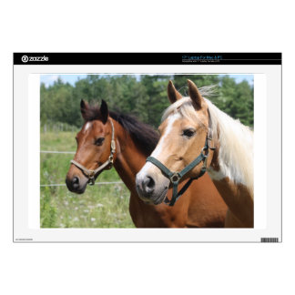 """Horses Decal For 17"""" Laptop"""