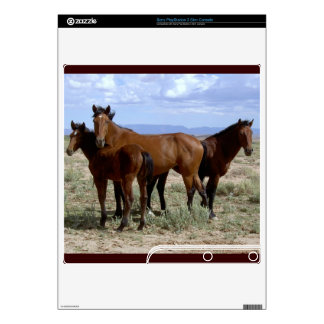 HORSES DECAL FOR PS3 SLIM