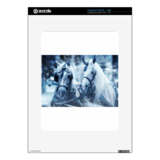 horses decal for the iPad