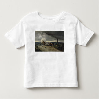 Horses Drawing Carts up a Hill, 1856 Toddler T-shirt