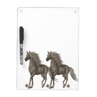 Horses Dry Erase Whiteboards