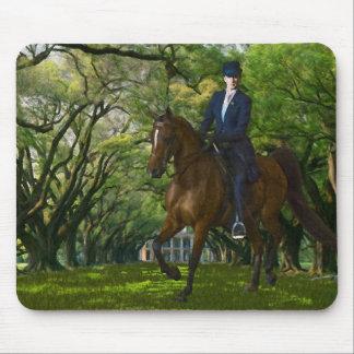 Horses - English tack - Aristocracy Mouse Pad
