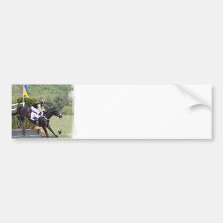Horses Eventing  Bumper Sticker Car Bumper Sticker