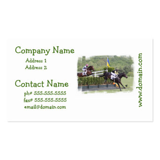 Horses Eventing Business Card