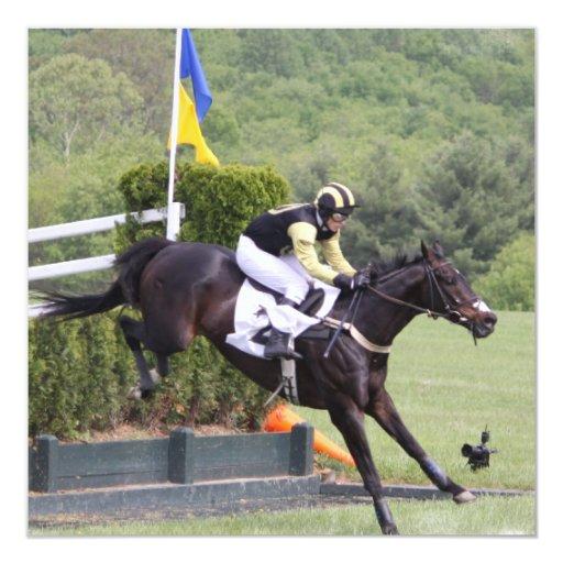 Horses Eventing Invitations